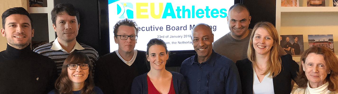 Une représentante de la FNASS au comité exécutif d'EU Athletes